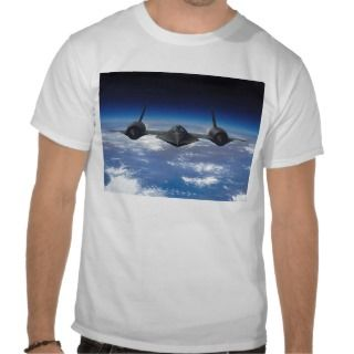 SR 71 Blackbird Mens Tee Shirt