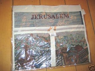 Holy City Jerusalem Israel Holy Land Bag Judaica New