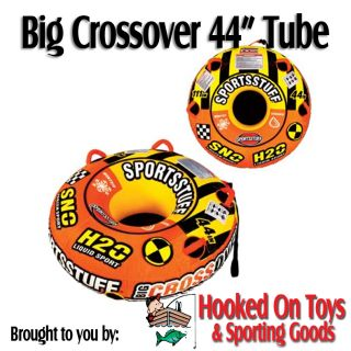 Big Crossover 44 1 Person Snow & Water Tube   Kwik Tek Sled