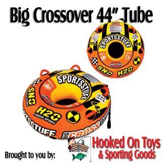 Big Crossover 44 1 Person Snow & Water Tube   Kwik Tek Sled