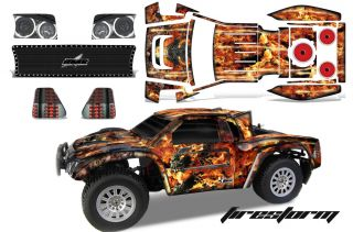 RC GRAPHIC DECAL KIT UPGRADE HOBBY TOWN HELION DOMINUS BODY FIRESTORM