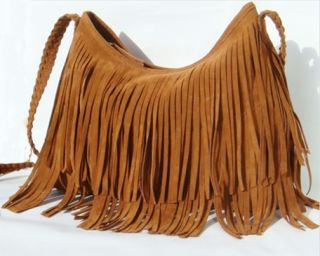 Fringe Tassel Shoulder Bag Handbag Hobo Satchel Cross Body