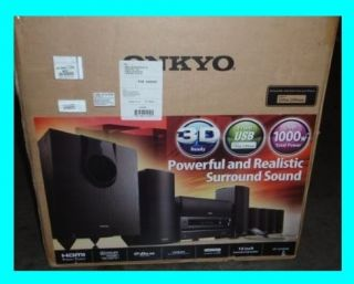 Onkyo HT S5500 7 1 Channel Home Theater Receiver Speaker System