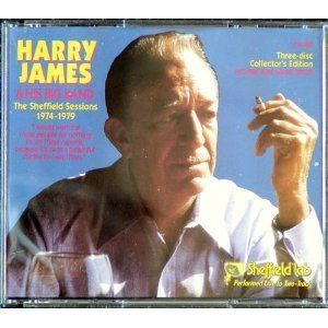 Harry James Sheffield Sessions 1974 79 RARE CD Edition