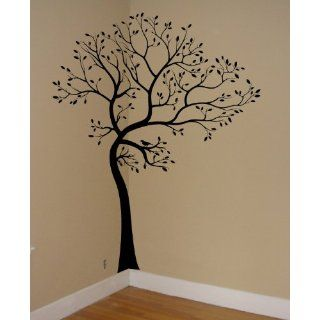 Large 6ft Tree Wall Decal with 18 trunk extension