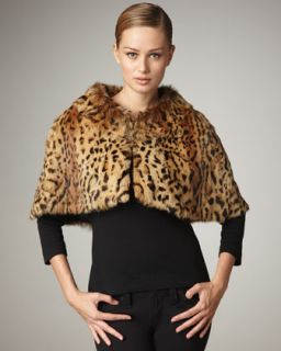 MICHAEL Michael Kors Leopard Print Cardigan & Flared Pants   Neiman
