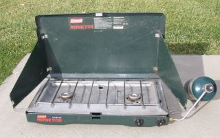 Coleman Model 5430B700 Two Burner Propane Camp Stove 04 99