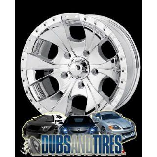 17 Inch 17x8 Ion Alloy wheels STYLE 165 Chrome wheels rims