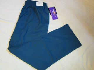 NWT Peaches Nurses Uniform Scrub Pants XL Lowrise Bootcut Full Elastic