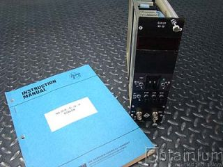 Harshaw NS 30 Scaler w Instruction Manual