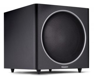 psw125 powered 12 home subwoofer polk audio black finish originally $
