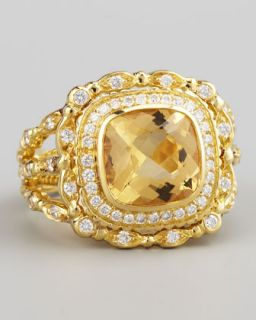 Doris Panos Daphne Citrine Ring