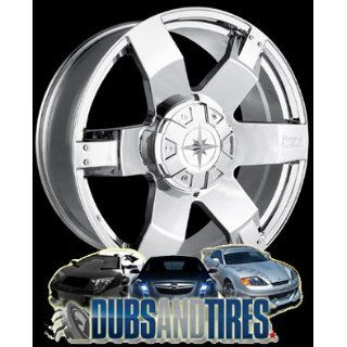 20 Inch 20x9 Ion Alloy wheels STYLE 185 Chrome wheels rims