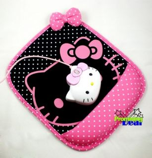 New Hello Kitty Laptop Computer Mouse Pad Mat Pink