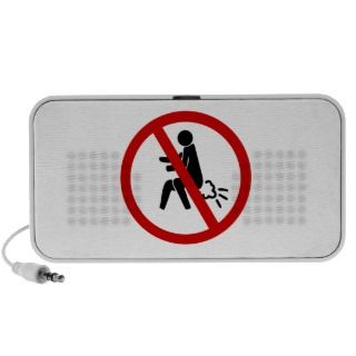 NO Farting ⚠ Funny Thai Toilet Sign ⚠ Speaker