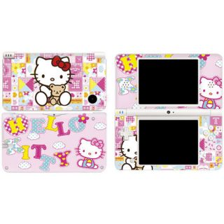 Hello Kitty New Decal Sticker Skin Nintendo DSi XL