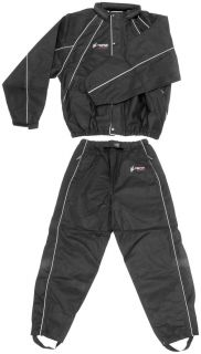 Frogg Toggs Hogg Togg Motorcycle Harley Rain Suit Black Size Large BMW