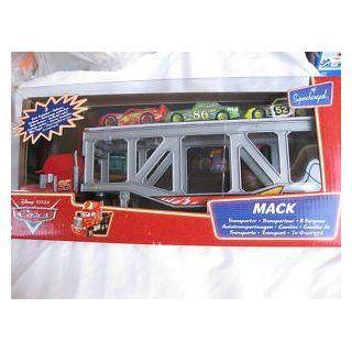 Disney Mack Transporter Hauler Truck Chick Hicks Leak Less