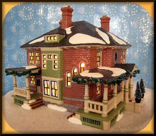 Bachmans Original Homestead New Department Dept 56 Snow Village UTube