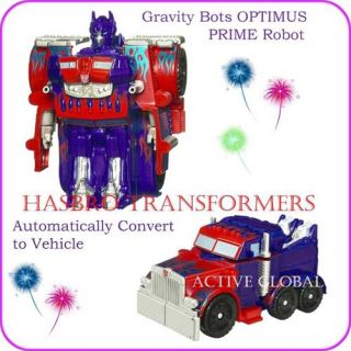 Hasbro Transformers Optimus Prime Robot Truck Movie 2 Red Blue Action