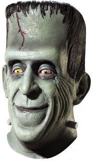 Halloween Adult Munsters Herman TV Movie Latex Mask Prop