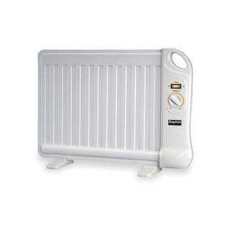 Dayton 1VNX3 Electric Heater, Analog Flat Panel, 400 W