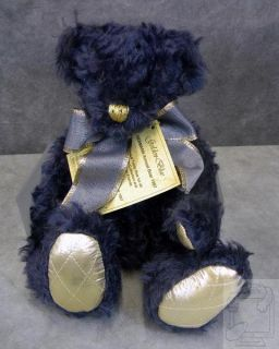 Hermann Golden Blue Annual Teddy Bear 1997 Limited Edition New in Box