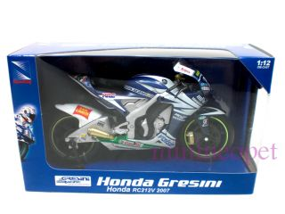 New Ray 2007 Honda RC212V 33 Bike 1 12 Marco Melandri