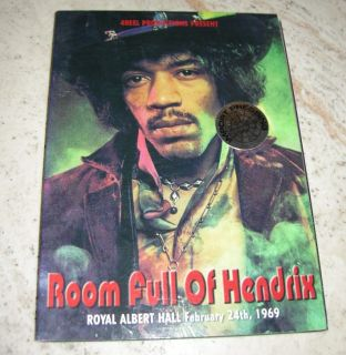 DVD Jimi Hendrix Room Full of Hendrix at The Royal Albert Hall 1969