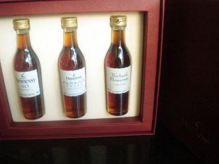 Hennessy Cognac Set MiniaturesHennessy XO, Paradis Extra, Richard