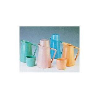 Medegen Roommates Bedside Pitcher With Cup Cover Blue No