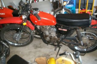 1977 Honda XL125 XL 125 Parts Project Dirt Bike Motorcycle