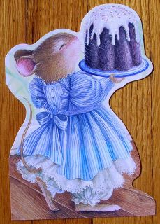 Susan Wheeler Holly Pond Hill Mouse Chocolate Birthday Girl Cake