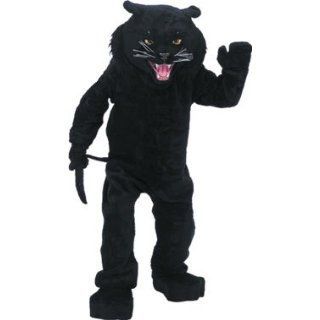 Black Panther Mascot Costume: Clothing
