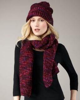MARC by Marc Jacobs Tito Hand Knit Wool Scarf