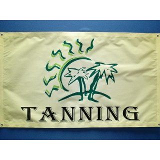 z187 Tanning Sun Bathing Shop display Banner Shop Sign
