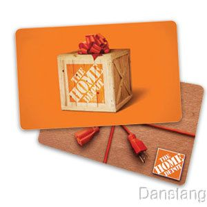 50 HOME DEPOT GIFT CARD – BRAND NEW – PIN UNSCRATCHED – GOOD