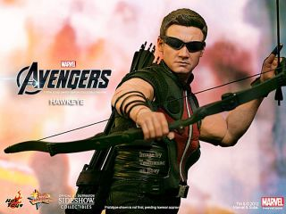 Hot Toys Hawkeye The Avengers 12 Figure Sideshow SEALED Jeremy Renner