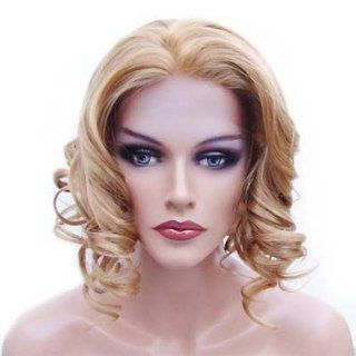 HANDSEWN SYNTHETIC FRENCH LACE FRONT FULL HAIR WIG Color