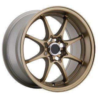 15x8 Konig Flatout 4x100 +25 (Anodized Bronze) Automotive
