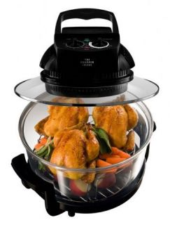 The Sharper Image 8217 Super Wave Oven Halogen, Infrared