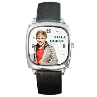 New One Direction Niall Horan Photo Metal Square Watch
