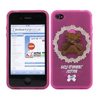 iTALKonline ProGel PINK BROWN TEDDY BEAR SWEET MY LOVE