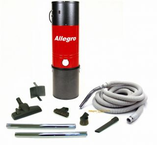 Sq Foot Unit 50 Deluxe Package Allegro Central Vacuum MU4400