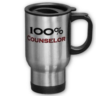 100 Percent Counselor Mugs
