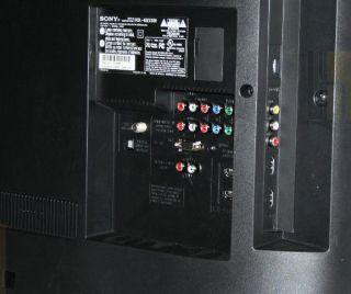 Sony BRAVIA 46 LCD HDTV   120Hz 1080p, 1920x1080 (KDL46EX500