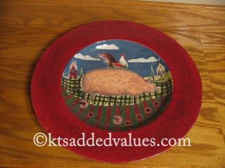 Homestead art design by Susan Winget on high quality ceramics from