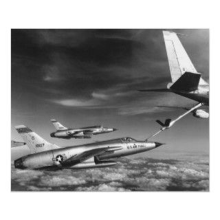 105 Thunderchief Refuel Posters