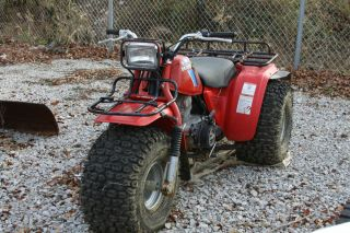 Honda Three Wheeler 200cc Big Red