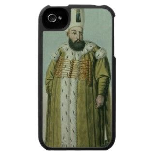 Amurath (Murad) III (1546 95) Sultan 1574 95, iPhone 4 Cover